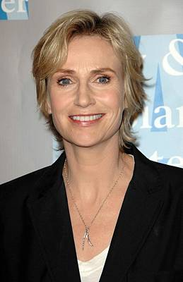 Jane Lynch At Arrivals For An Evening Poster by Everett