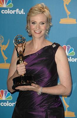 Jane Lynch In The Press Room Poster