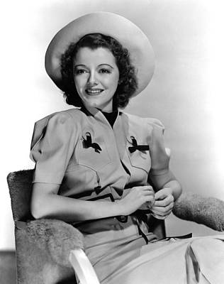 Janet Gaynor, 1938 Poster by Everett