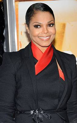 Janet Jackson At Arrivals For For Poster by Everett