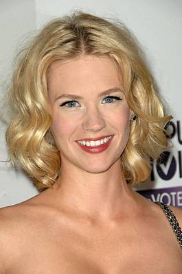 January Jones At Arrivals For 5th Poster by Everett
