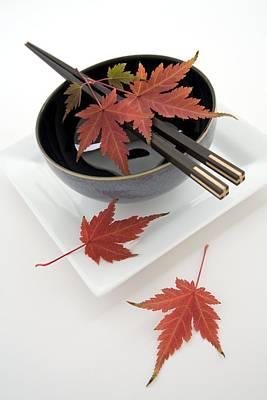 Japanese Noodle Bowl Poster by Erika Craddock