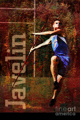 Javelin Thrower Poster
