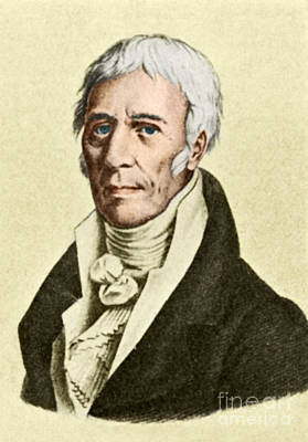 Jean-baptiste Lamarck, French Naturalist Poster by Science Source