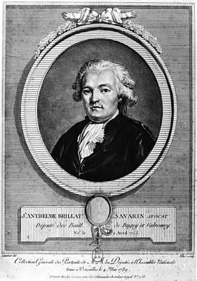 Jean Brillat-savarin Poster by Granger