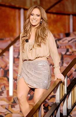 Jennifer Lopez Wearing A Haute Hippie Poster