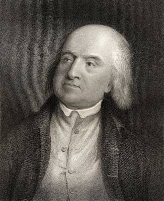 Jeremy Bentham 1748 To 1832 English Poster by Ken Welsh