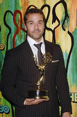 Jeremy Piven At Arrivals For Hbo Emmy Poster by Everett