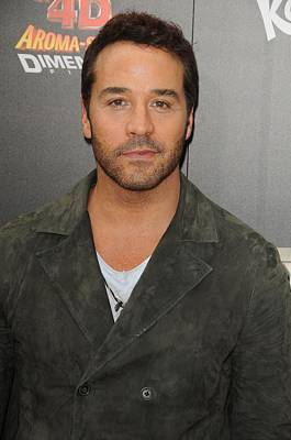 Jeremy Piven At Arrivals For World Poster by Everett