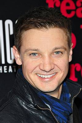 Jeremy Renner  At Arrivals For Reasons Poster by Everett
