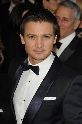 Jeremy Renner At Arrivals For The 83rd Poster by Everett
