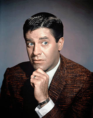 Jerry Lewis, 1950s Poster by Everett