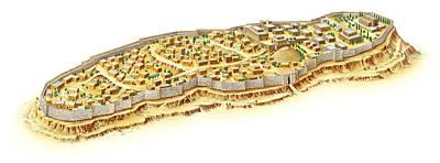 Jerusalem At The Time Of King Solomon Poster