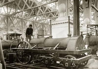 Jervis Locomotive, Museum Display Poster