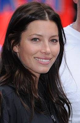 Jessica Biel At A Public Appearance Poster by Everett