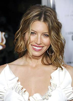 Jessica Biel At Arrivals For La Poster by Everett