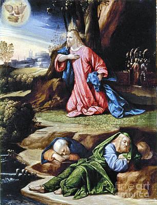 Jesus: Agony In The Garden Poster