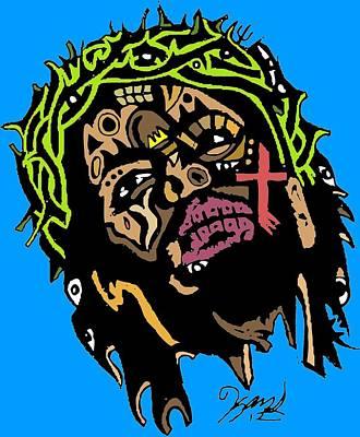 Jesus Christ Poster by Kamoni Khem