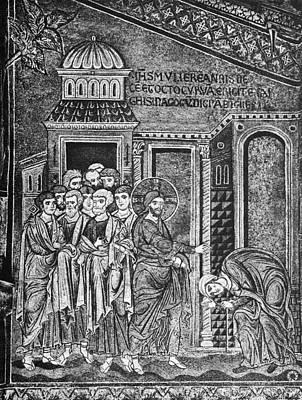 Jesus The Healer, 12th Century Poster