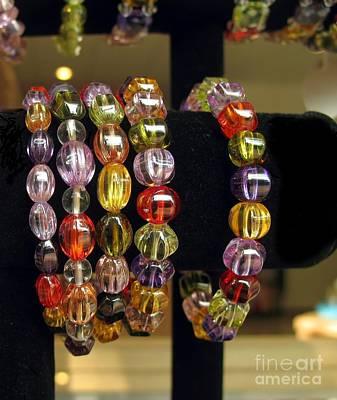 Jewelry On Display Poster by Yali Shi