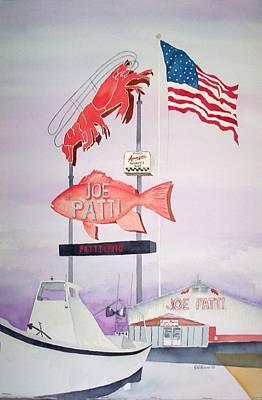 Joe Patti's Poster by Richard Willows