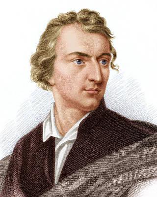 Johann Von Schiller, German Poet Poster by Sheila Terry