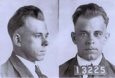 John Dillinger 1903-1934, In Mugshot Poster