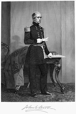 John Ellis Wool (1784-1869) Poster by Granger