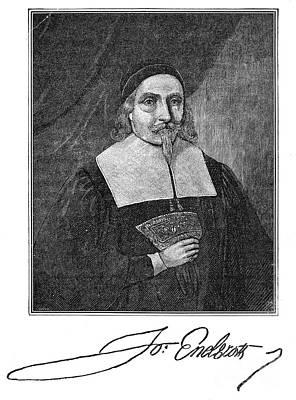 John Endecott (1589-1665) Poster by Granger
