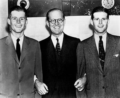 John F., Joseph, Joe Kennedy, Jr., Ca Poster