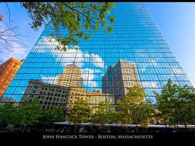 John Hancock Tower Poster