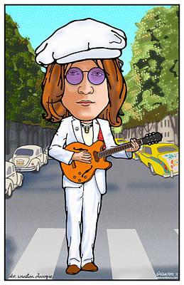 John Lennon Poster by John Goldacker