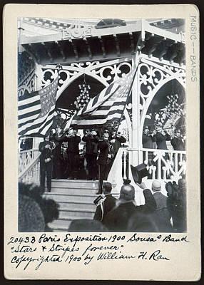 John Philip Sousa, Paris Exposition Poster by Everett
