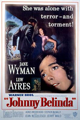 Johnny Belinda, Lew Ayres, Jane Wyman Poster