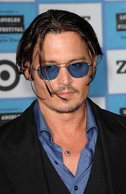 Johnny Depp At Arrivals For 2009 Los Poster