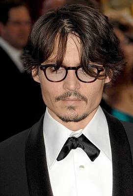 Johnny Depp At Arrivals For Red Carpet Poster by Everett