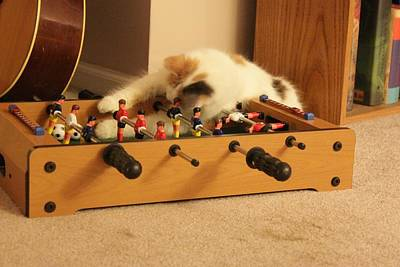 Poster featuring the photograph Jolie-boo Foosball by Rdr Creative