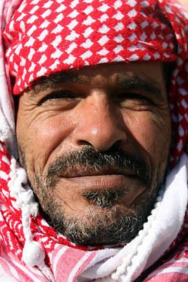 Jordanian Man Poster by Munir Alawi