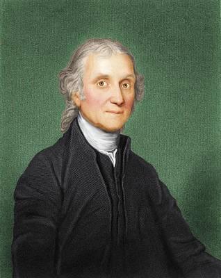 Joseph Priestley, British Chemist Poster by Maria Platt-evans