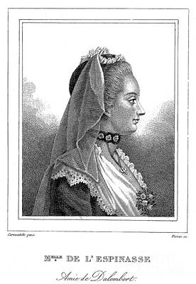Julie De Lespinasse Poster