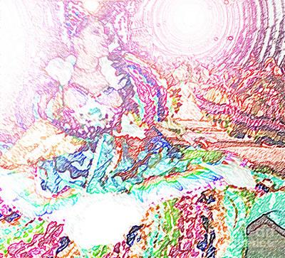 June Festival 2 Poster by Rosane Sanchez