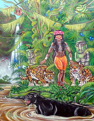 Jungle Maiden Poster