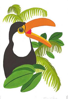 Jungle Toucan Poster