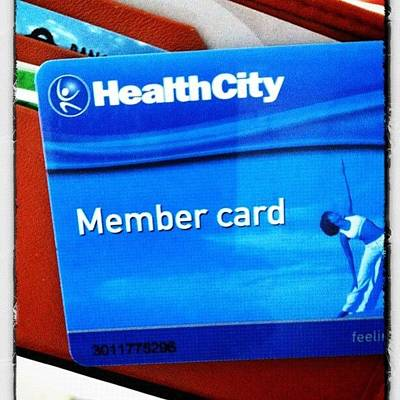 Just Had #my #gymtime At #healthcity Poster