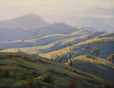 Kanimbla Valley Morning Poster by Graham Gercken
