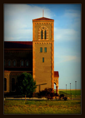 Poster featuring the photograph Kansas Architecture by Jeanette C Landstrom