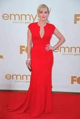Kate Winslet Wearing An Elie Saab Dress Poster