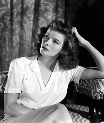 Katharine Hepburn, 1940s Mgm Portrait Poster by Everett