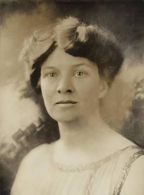 Katharine Martha Houghton 1878-1951 Poster