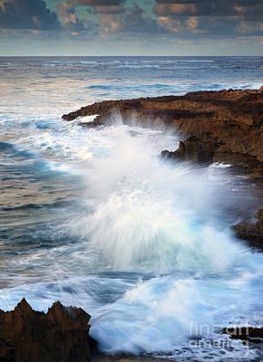 Kauai Sea Explosion Poster